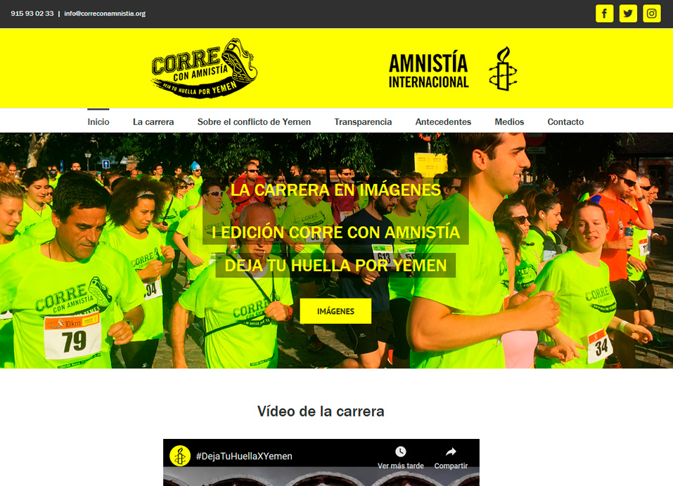 Corre con Amnistía