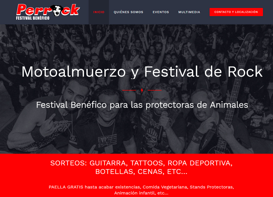 Perrock Festival Benéfico